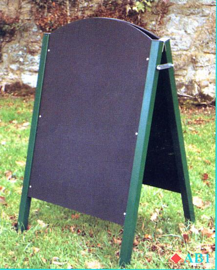 All steel 'A' board in black. Overall size 24 - Kettering Northamptonshire
