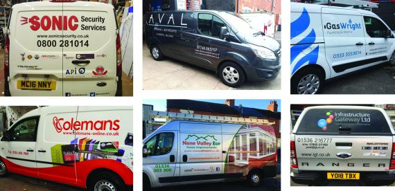 Vehicle Signs - Kettering Northamptonshire