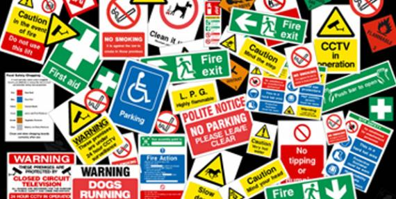 Health and Safety Signs - Kettering Northamptonshire