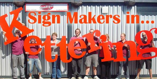 Sign Makers Kettering Northamptonshire