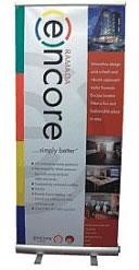 Pop up banner stands - Kettering Northamptonshire